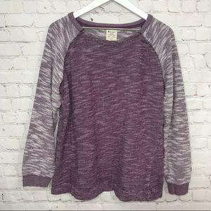 Champion Pullover Knit Sweatshirt Long Sleeve Top